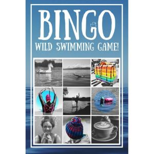 Wild Swimming Bingo Game Cover Design