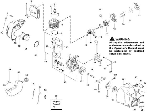 Weedeater Featherlite FL23 Parts