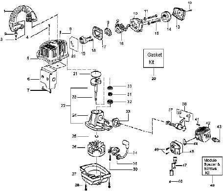 Stihl Fs45 Engine Diagram Stihl BG86 Diagram Wiring