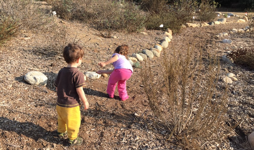 kids in nature park