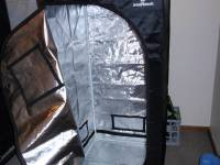 Home Grow Setups for Amendment 64 - 2'x2' LED Grow Tent ...