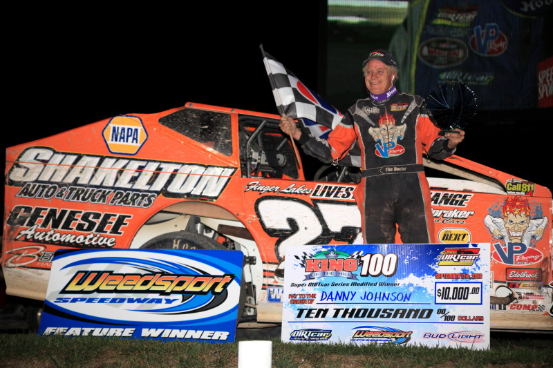 Danny Johnson is the King of the Victory Hill  Weedsport