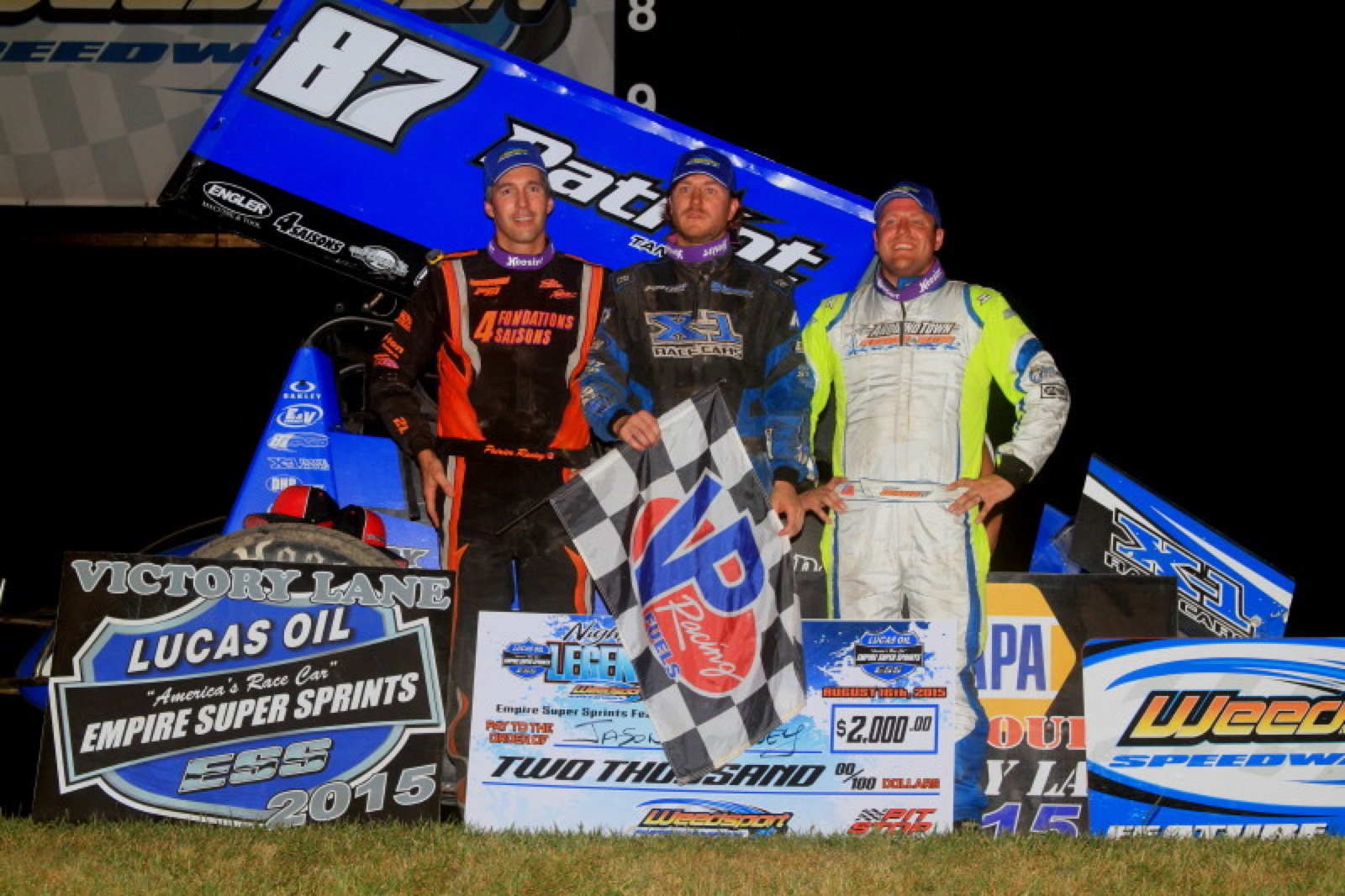 Racin Jason Outsmarts Outlasts ESS Competition