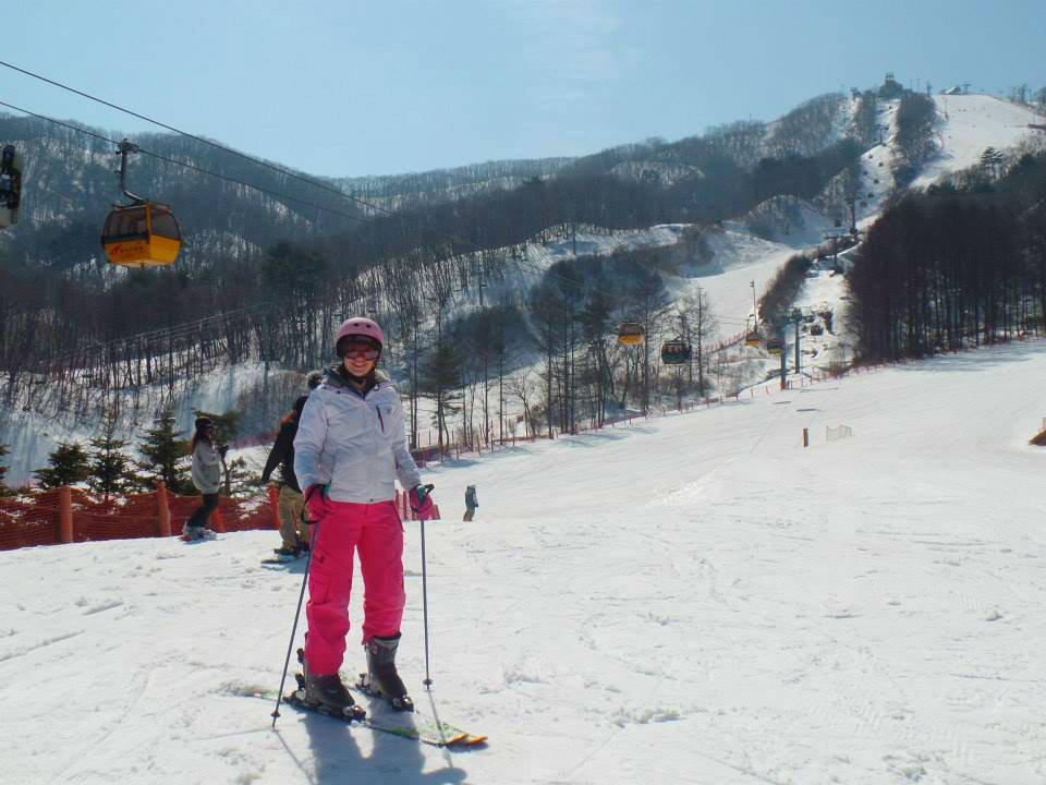 평창 Skiing at Pyeongchang