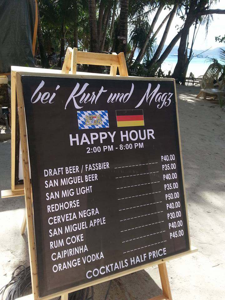 A very happy, happy hour!