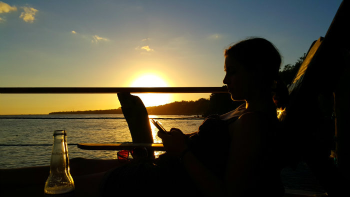 Thanks to my Wee Gypsy boyfriend for this sunset shot!