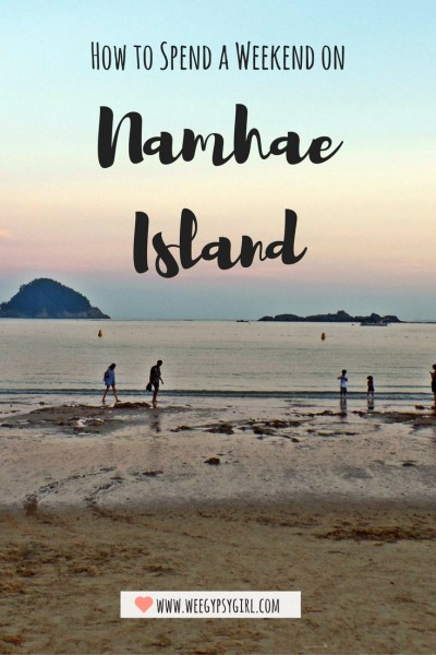 How to Spend a Weekend on Namhae Island