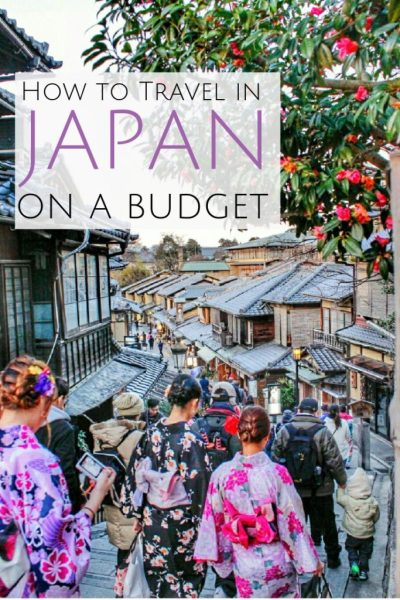 budget travel in Japan