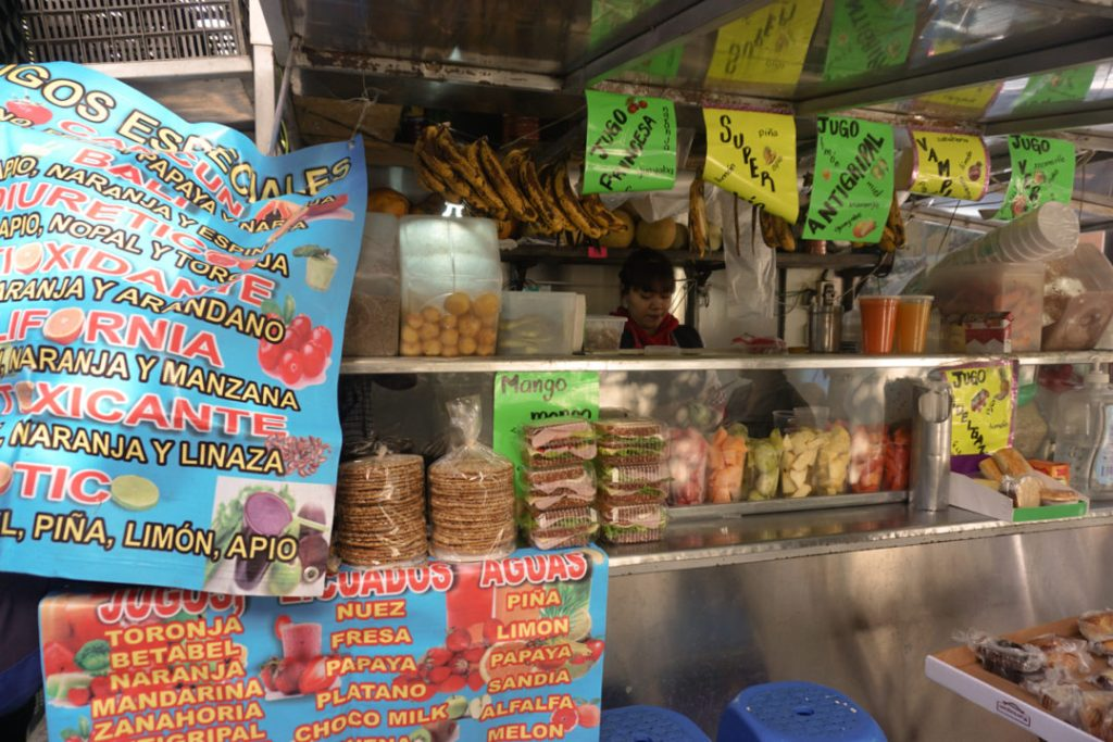 Mexico City Street Food