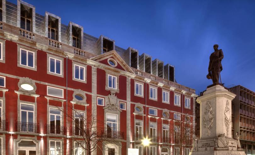 Batiment du NH Collection Porto Batalha - Hotel 4 etoiles - Porto