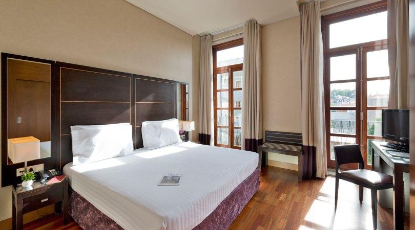 Chambre double Eurostars das Artes - Hotel 4 etoiles - Porto