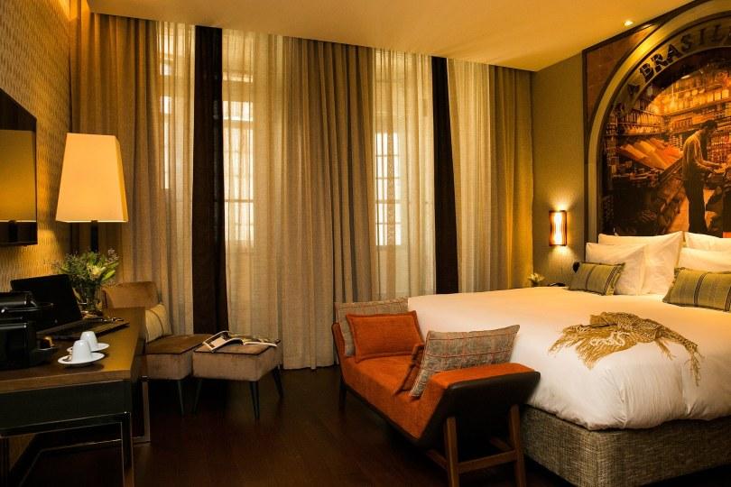 Chambre double - Pestana Porto A Brasileira - Hotel 5 etoiles - Porto