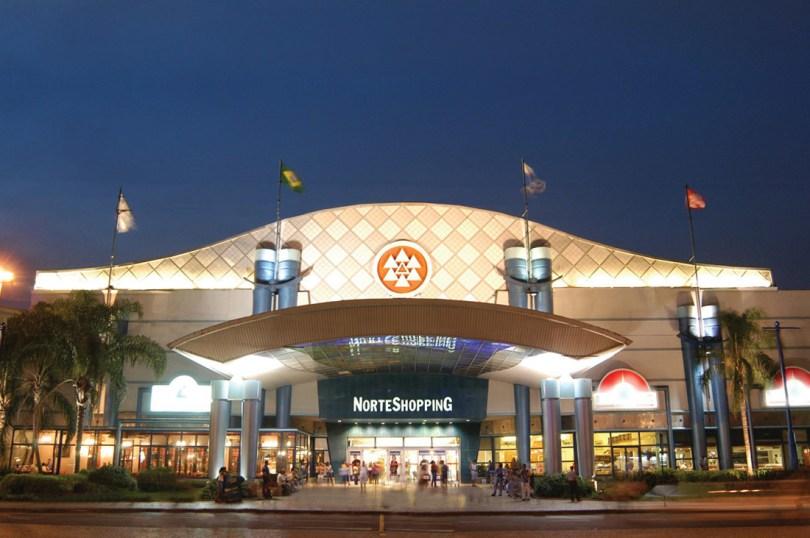 Entree centre commercial Norte Shopping - Matosinhos - Porto