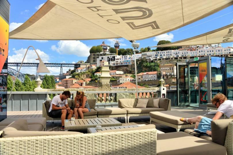 Terrace Lounge 360 - Espace Porto Cruz - Terrasse panoramique - Vila Nova de Gaia - Porto