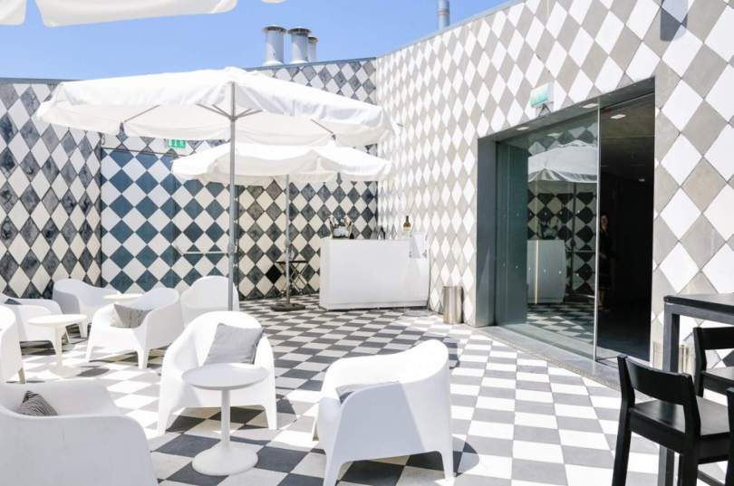 Terrasse du restaurant de la Casa da Musica - rooftop - Porto