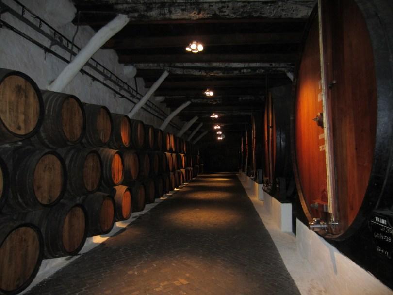 Caves de vieillissement des Porto Sandeman - Vila Nova de Gaia