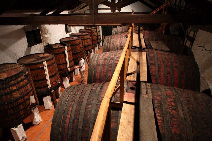 Chais de vieillissement des vins de Porto Taylors - Vila Nova de Gaia
