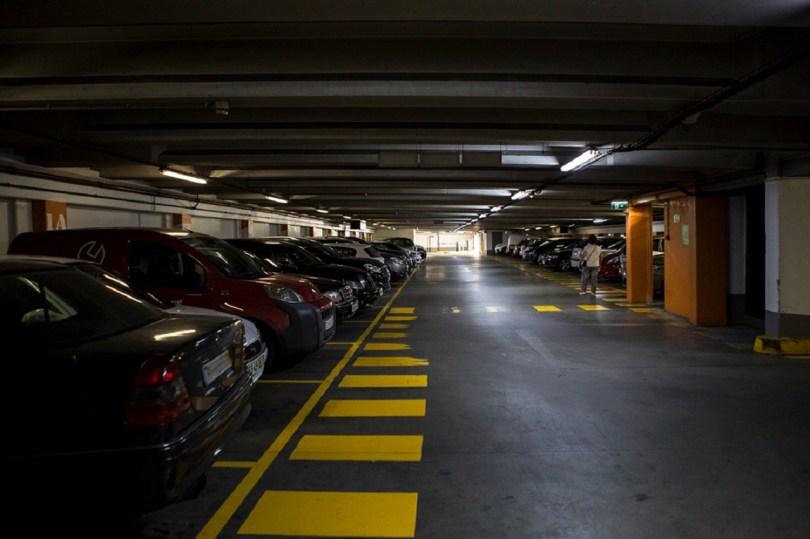 Parking souterrain de Porto