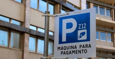 Signalisation de parcmetre - Porto