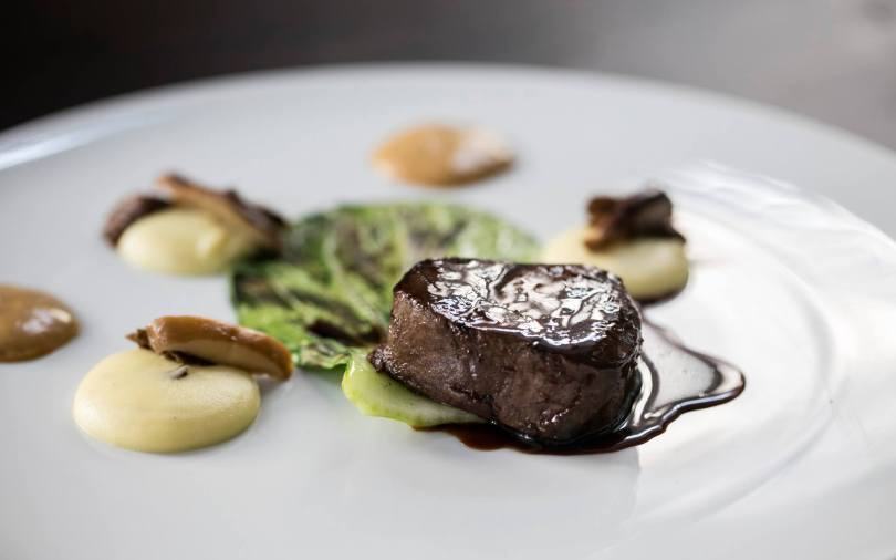 Boeuf et truffe ete - Plat restaurant DOP - Chef Rui Paula - Porto
