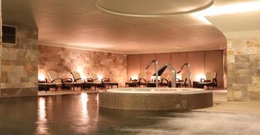 Piscine interieure du Wellness BeautyLab - Spa du Porto Palacio - Hotel Porto