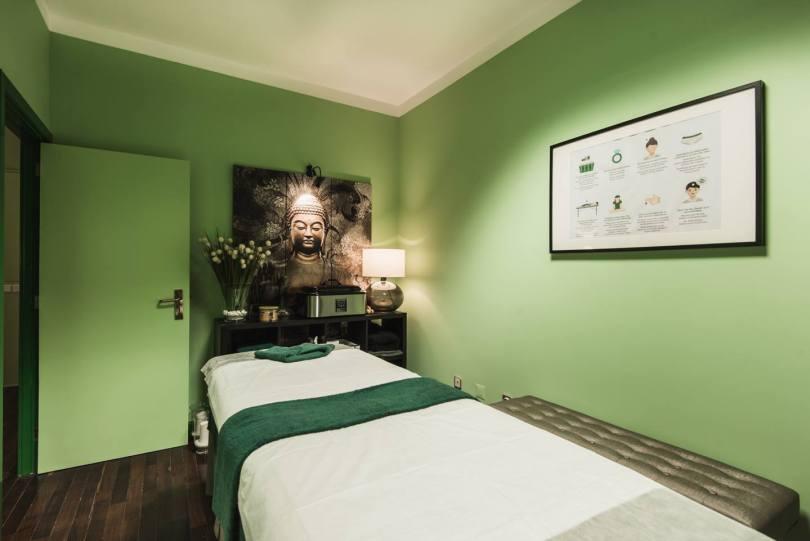Salle de massage du Falua Massage Center de Porto