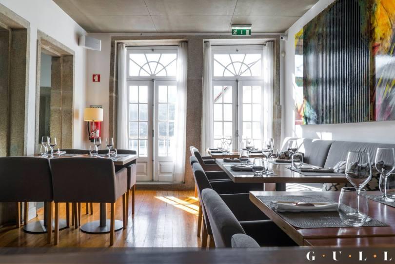 Salle du restaurant Gull - Porto