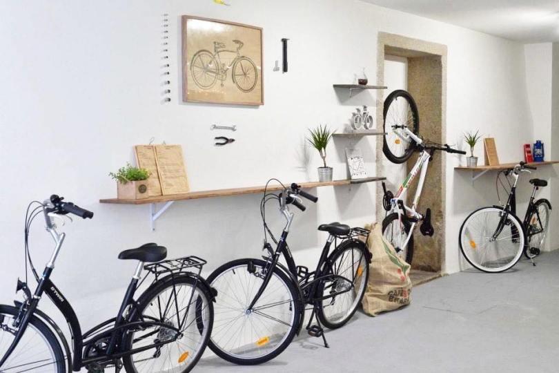 Velos en location au Hungry Biker Cafe - Porto