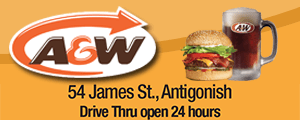 A&W 54 James St, Antigonish