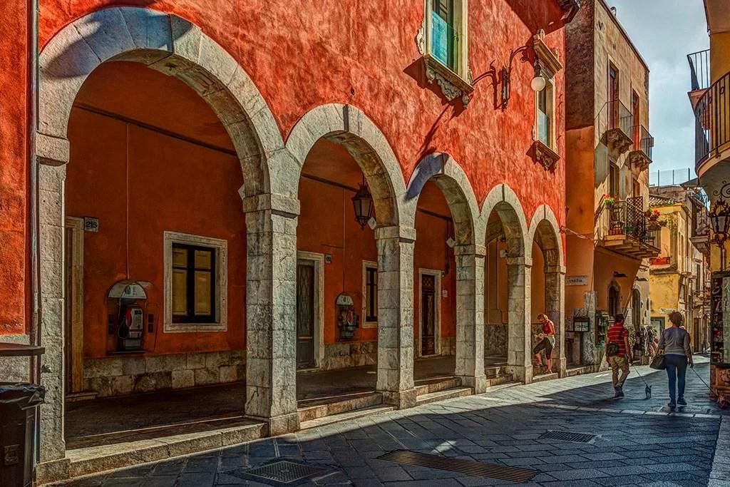 Taormina weekend romantique amoureux