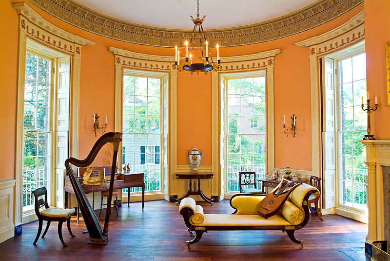 Nathaniel Russell House  Charleston South Carolina  Weekend Blitz
