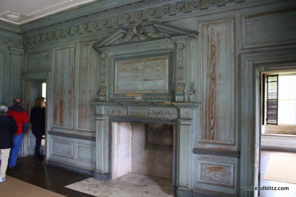 Great Hall fireplace mantle and overmantle