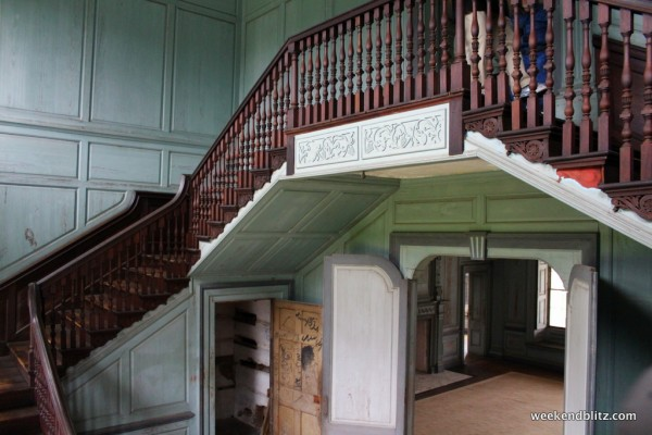 """Very impressive """"Stair Hall"""" featuring 27-foot ceilings"""