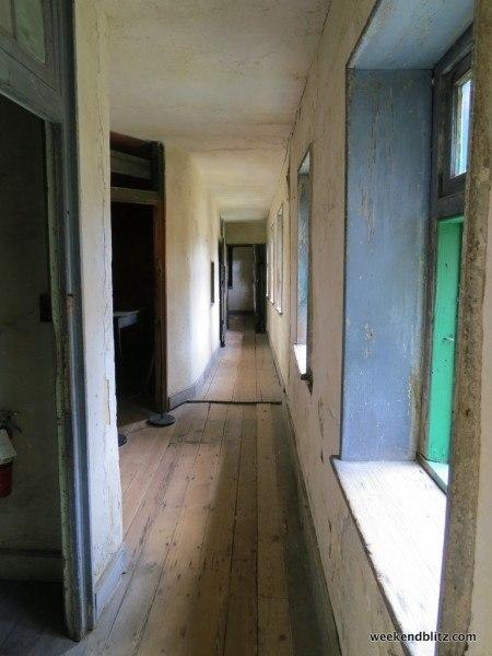 Outside slave quarters