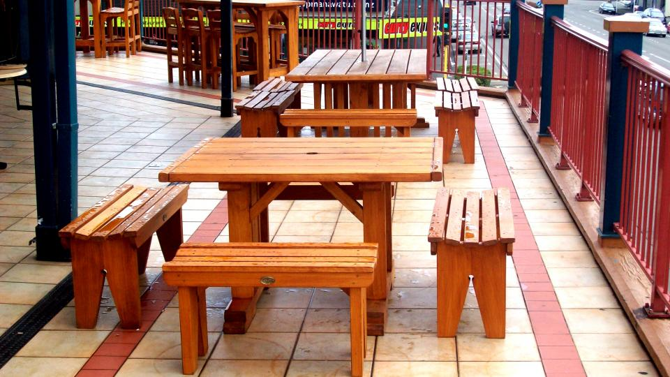 Outdoor Wooden Chairs