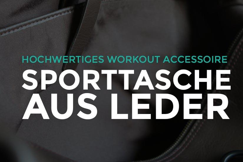 Sporttasche aus Leder - Elegante Sporttasche