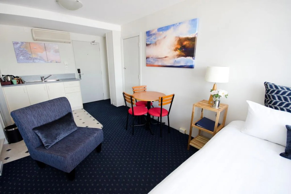 Part of the Family Suite at Jet Park Rotorua New Zealand