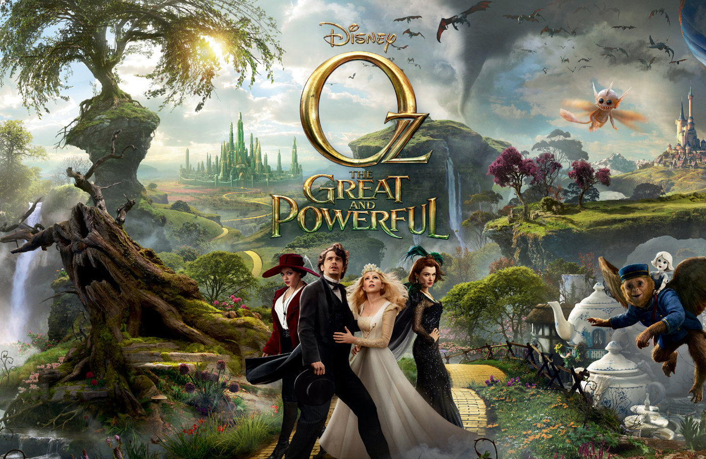 Oz the Great and Powerful - Film Review - Everywhere - by Mieka Black
