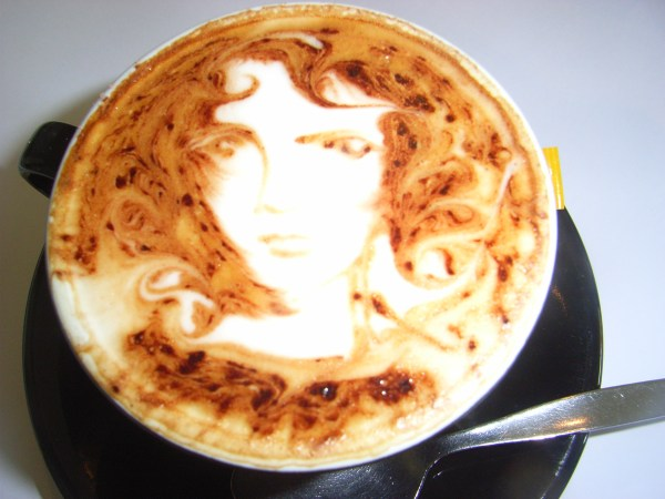 ' Coffee Art In Adelaide