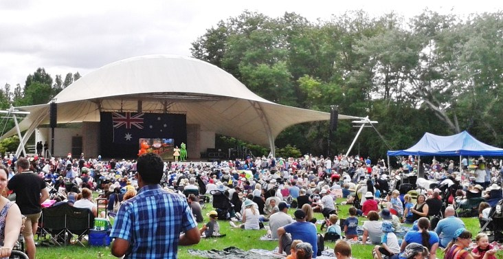 Australia Day Events Canberra