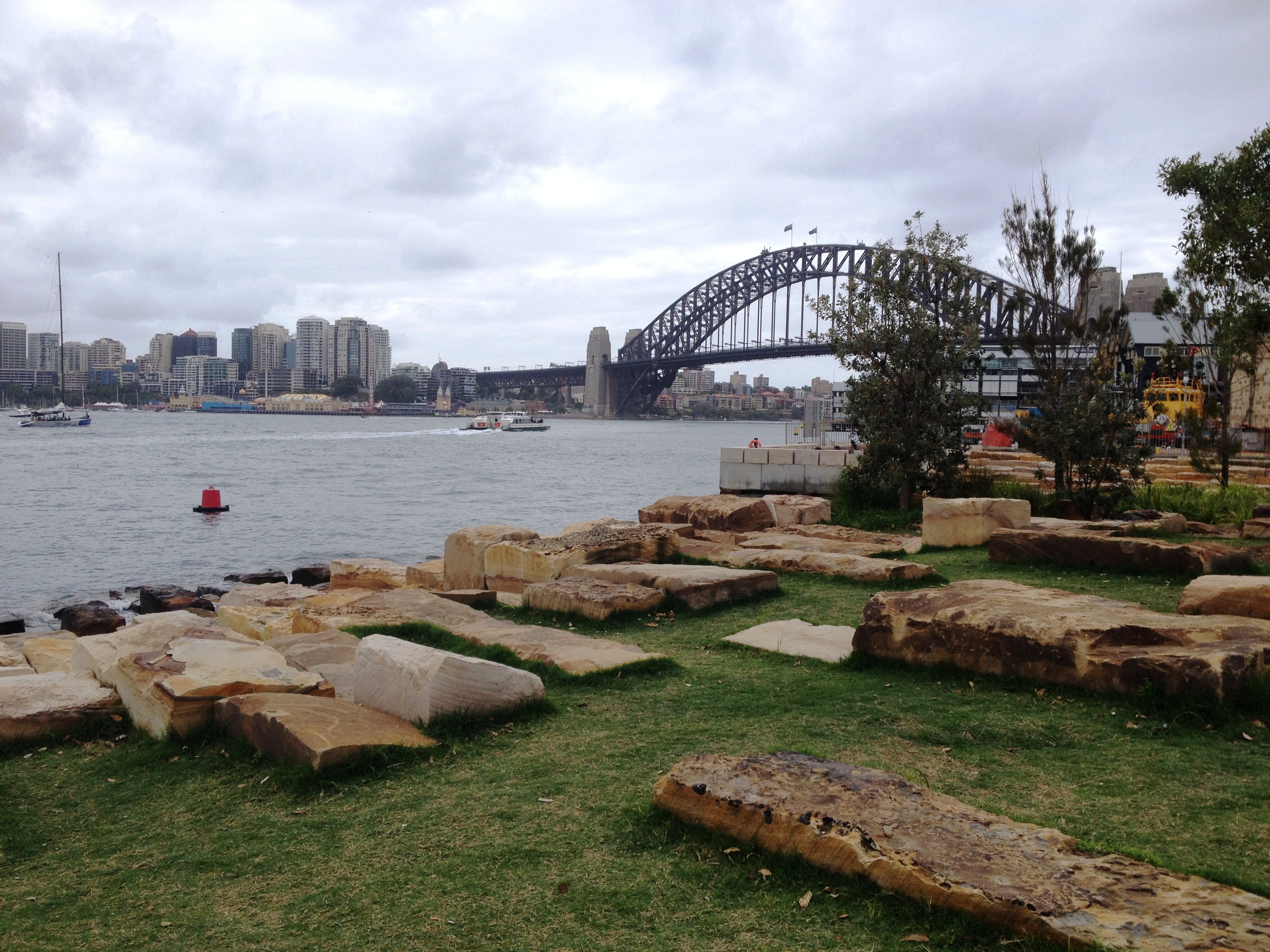 Sculpture at Barangaroo - Sydney - by Postcards_from
