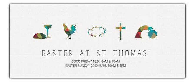 Easter Services at St Thomas' Anglican Church, North