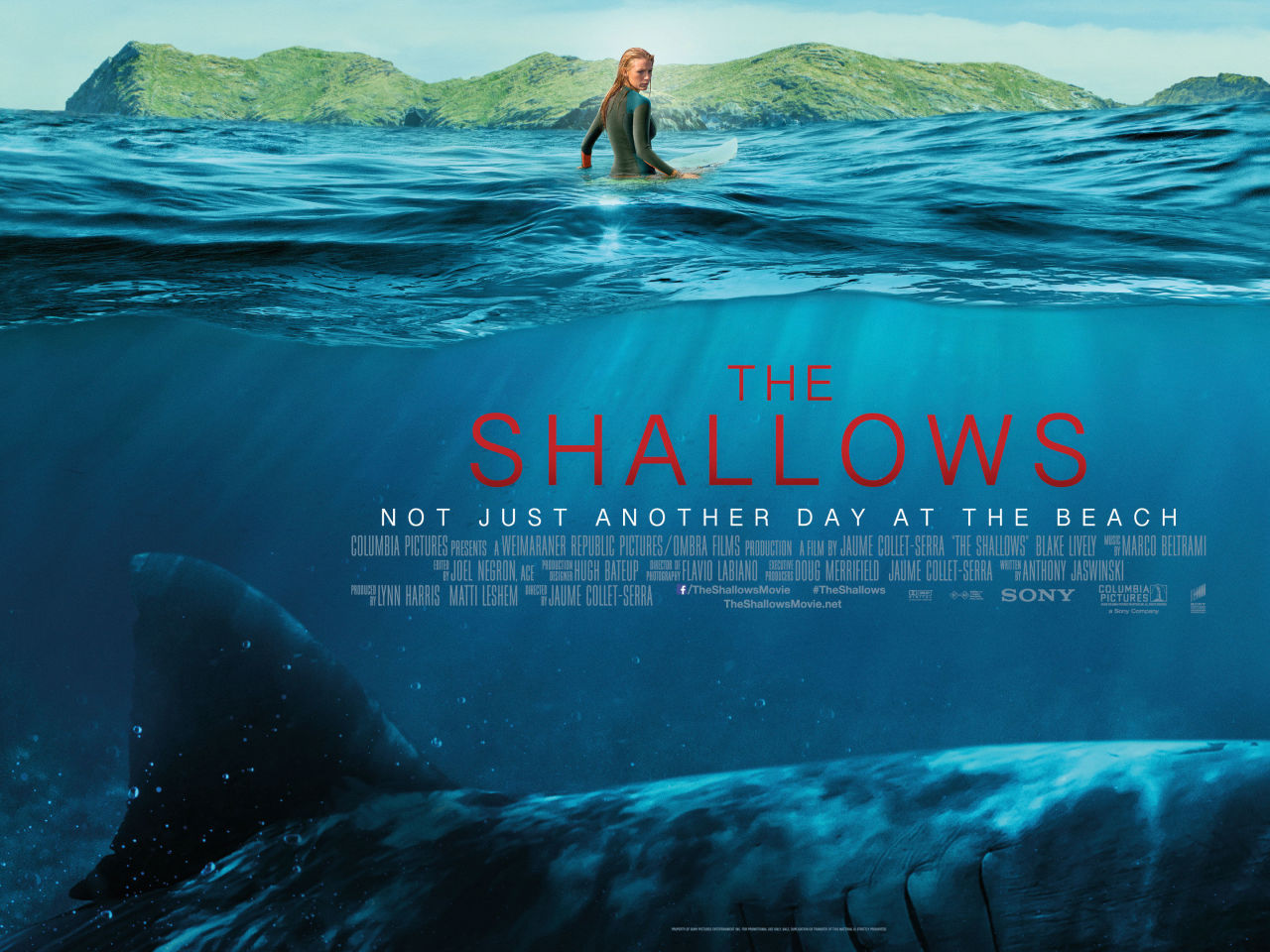 The Shallows - Film Review - Everywhere