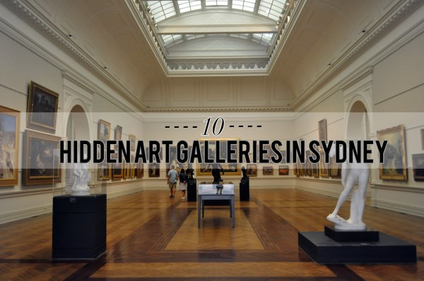 Hidden Art Galleries In Sydney