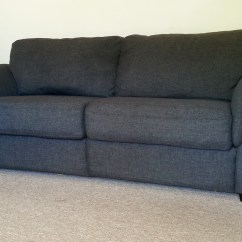 Sofa Donation How To Decorate With A Dark Brown Leather Pick Up Salvation Army Furniture