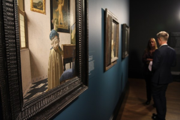 Exhibition Screen Vermeer And Music - Art Of Love