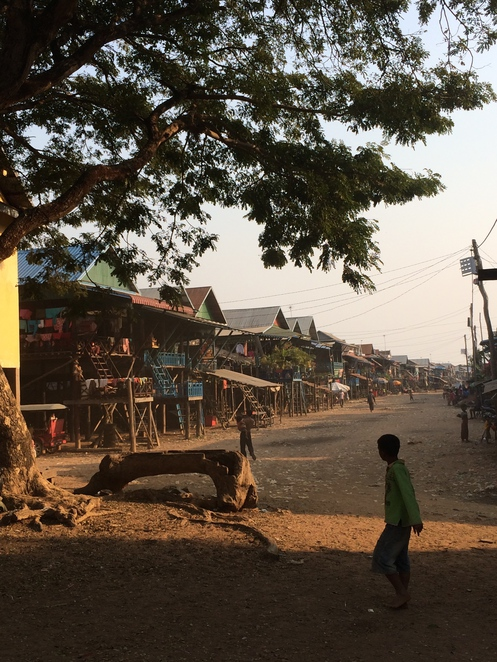 kompong phluk, siem reap, cambodia, fishing village, dry season