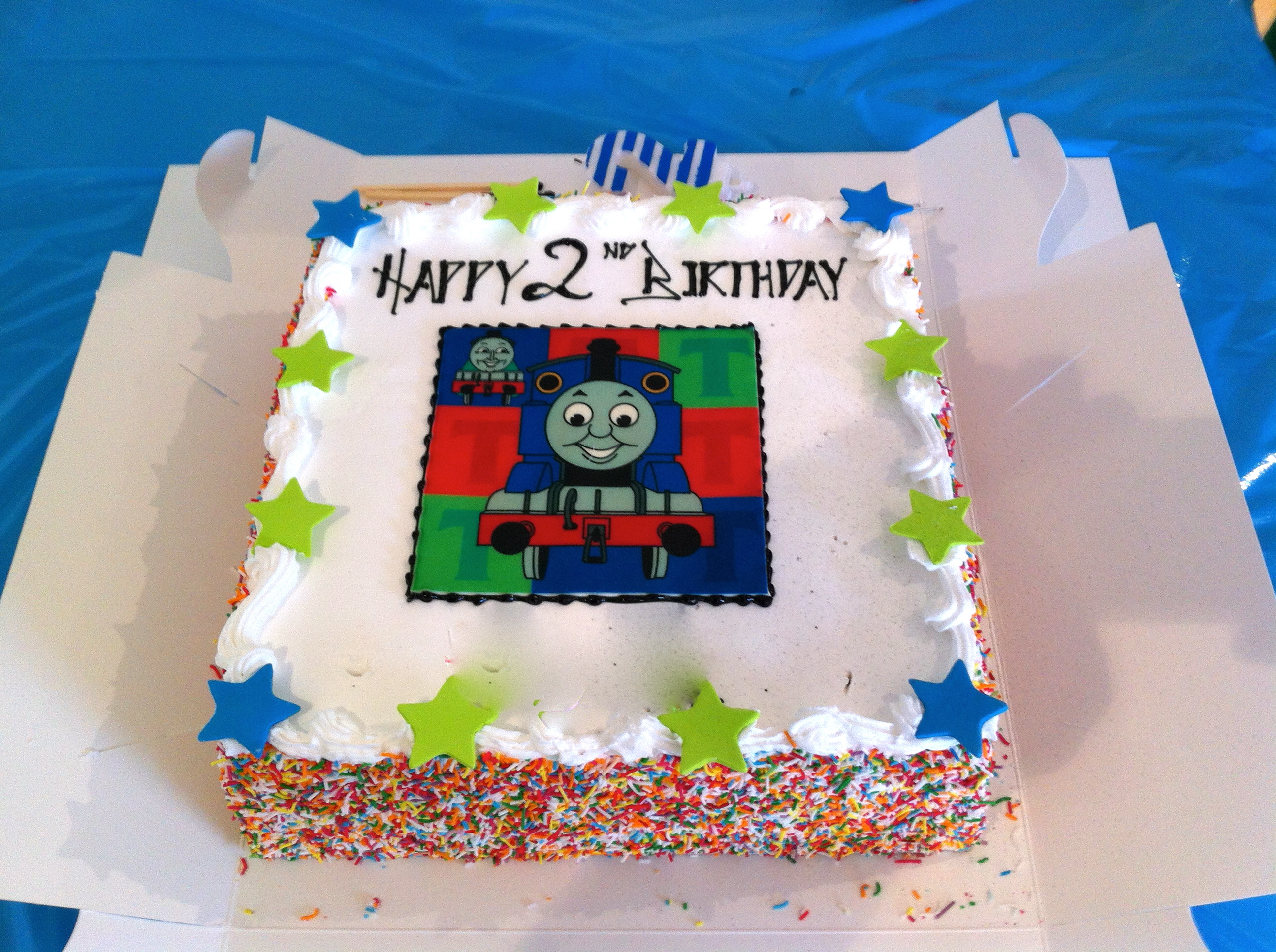 Diy Thomas The Tank Engine Party