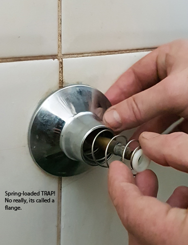 how to easily fix a leaky shower tap