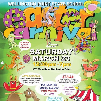 Wellington Point Easter Carnival 2013 Brisbane